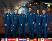 International Space Station (ISS) Expedition 25 Crew Portrait